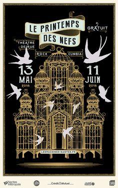 Chaque printemps, d'avril à fin mai, les Nefs s'animent avec une programmation de spectacle vivant : théâtre, musique, danse, cirque, spectacles pour enfants et arts visuels. Et c'est gratuit !