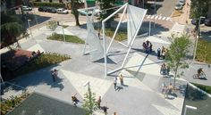 Fontana Square by Labics in Quinto de Stampi, Italy