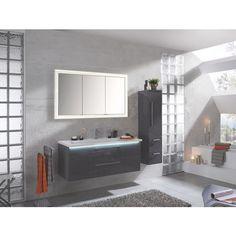 hochwertiges badezimmer von sadena in anthrazit | badezimmer, Badezimmer
