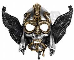 Ossa Ravenhead Alchemy Gothic (Metal-Wear) Belt Buckle