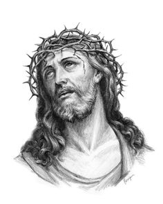 Choose your favorite jesus christ drawings from millions of available designs. All jesus christ drawings ship within 48 hours and include a money-back guarantee. Jesus Christ Drawing, Jesus Drawings, Jesus Christ Images, Religion Tattoos, Christus Tattoo, Jesus Sketch, Jesus Crown, Jesus Christus, Jesus Face
