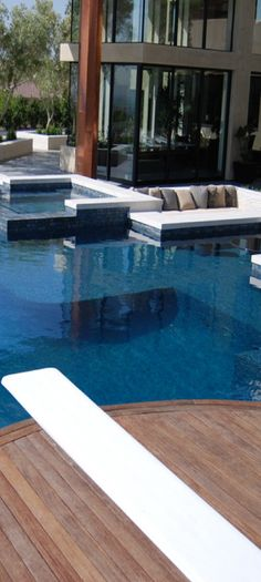 wow pool. i especially like the couch over the pool area
