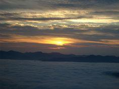 Sunrise, Wayah Bald, Appalachian Trail