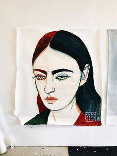 THE BIG PORTRAIT ABOUT SAD GIRL