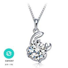 Silver Zodiac Necklace