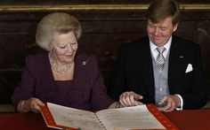 Dutch abdication: Willem-Alexander becomes Europe's youngest monarch