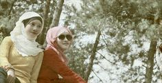 Lembang, Bandung city. West java, Indonesia. With my best friend Eyni Nurhikma ;)