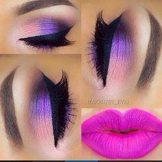so stunning  by @makeupby_ev21