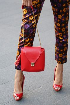 Street Style: New York Fashion Week Spring/Summer 2014 via #marieclaireaustralia