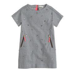 Girls' crystal bug dress : party dresses | J.Crew