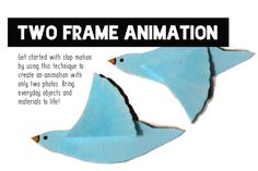 Tinkering Project: Two Frame Animation | Exploratorium Leaf Man, Frame By Frame Animation, When You Are Happy, Create Animation, Make A Video, Draw Your, Studio S, Everyday Objects, Stop Motion