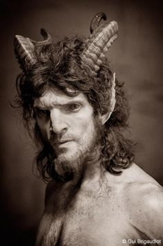 Image Collection #5: Fantasy Half Human Characters  This Satyr has very intense eye lenses.