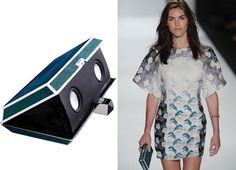 Rebecca Minkoff + STELLÉ Audio Couture = Limited Edition Boombox Clutch ss13