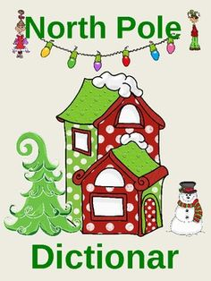 North Pole Dictionary - Christmas Greek roots (prefix and suffix) activity-Christmasology - so cute!!!  $