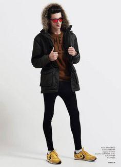 Sebastian Troncoso Captures Liuk Bass in Sportswear Styles for TenMag #177