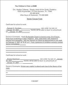 Fake Resume Sample Doctor Note  30 Free Documents In Pdf Word  Fake Doctors