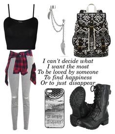 """""""Untitled #632"""" by maryanarivera ❤ liked on Polyvore featuring J Brand, WearAll, SM New York and Bling Jewelry"""