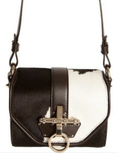 GIVENCHY Ponyhair Obsedia Crossbody Bag