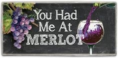 CounterArt Stoneware Sign 812 by 4Inch You Had Me At Merlot ** Details can be found by clicking on the image.