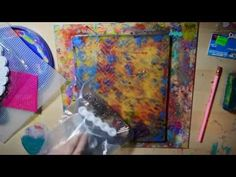 Texture Tools for Monoprinting -- In this video, I discuss different tools you can find for mono printing. I use the GelliArts Gelli Plate. Sorry about some of the products not being shown properly, this is my first talking video!