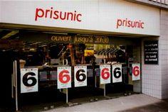 je me souviens bien du Prisunic. J'y achetais tous mes affaires personnels, comme le shampooing, les bigoudis, etc. Il parait que le Prisunic n'existe plus...?