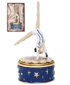 Gymnast Walkover Music Box