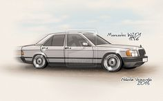 Mercedes W201 by extremebt