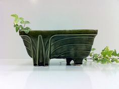 Ceramic California Pottery Planter by vintage19something on Etsy