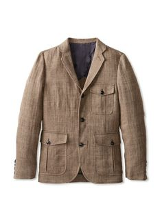 Todd Snyder Men's Herringbone Sport Coat,  USD 249