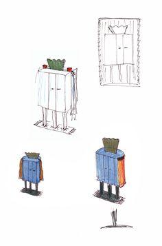 45 - Skizzen Schränkchen