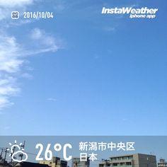 おはようございます! 穏やかな秋空ですが…暑いです〜(汗