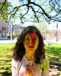 Holi festival of colors at BU  photo by @mikkijj by empurts
