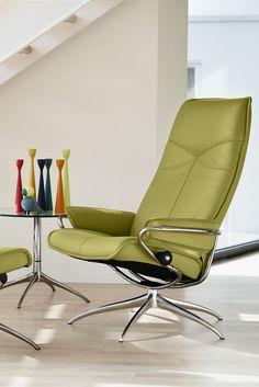 Komfort Im Modernen Design Stressless Sessel City In Apfelgrün Gleich Mal Anschauen Bei Spitzhüttl
