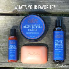 Which #SheaMoistureforMen product is your favorite?