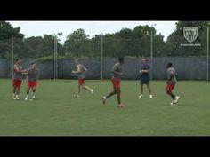 MNT Juggling at Training
