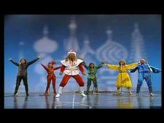 "Dschinghis Khan - Moskau 1979. ""Moskau, Moskau wirf die Gläser an die Wand, Russeland ist ein schönes Land, ho, ho, ho, ho, hey !"""