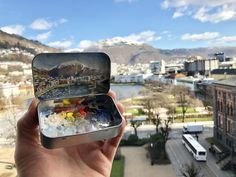 'Ulkriken Fra Hotel Norge' by Matthew Betancourt Fine Art Gallery, Bergen, Art Studios, Social Media, Art Gallery, Social Networks, Social Media Tips, Mountains