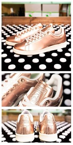 Rose gold Stan Smith