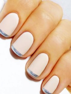 According to our wedding beauty timeline, you should get your nails done one to two days before the big day. But what about how you should paint your digits? Some brides will stick to the classic nude