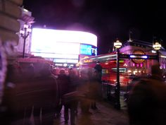 Picadilly Circus am Abend