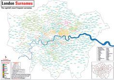 London Surnames | Mapping London