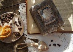 Handmade by Smilla: Кофейная мини-книжка