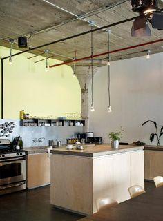 [Interior] un loft en Brooklyn. Minimalismo industrial   Decorar tu casa es facilisimo.com