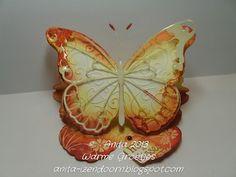 Anita 's Warme Groetjes: vlinder mee....