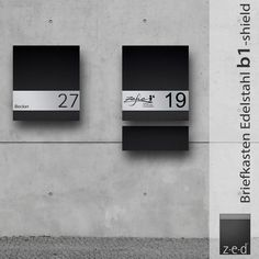 Die 24 besten Bilder von Briefkasten Edelstahl | Briefkasten ...