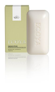 ECOYA Soap - French Pear http://www.ecoya.com/
