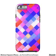Abstract Squares iPhone 6/6s, Tough Tough iPhone 6 Case