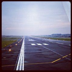 Runway 29, #Airport #Gdansk