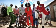 Congolese Fire: The art of dressing! Solange Knowles, Losing You (2013)