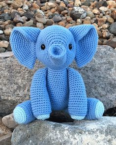 Free Esther the Elephant Amigurumi Pattern